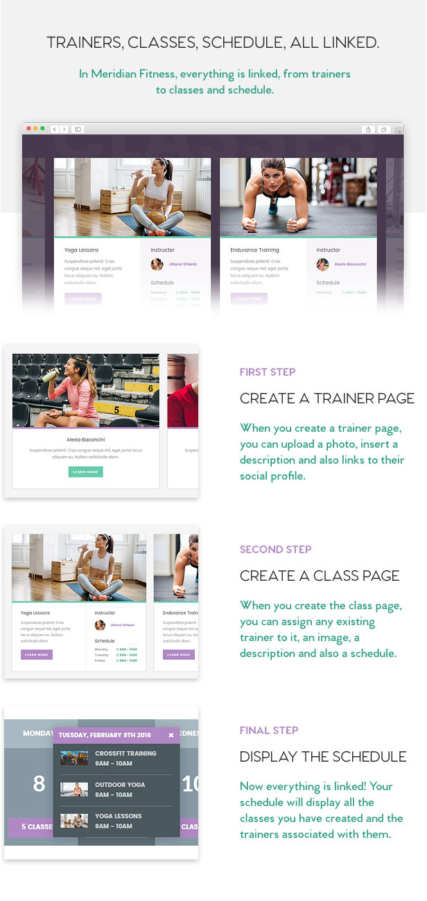 Meridian Fitness - Fitness/Gym WordPress Theme
