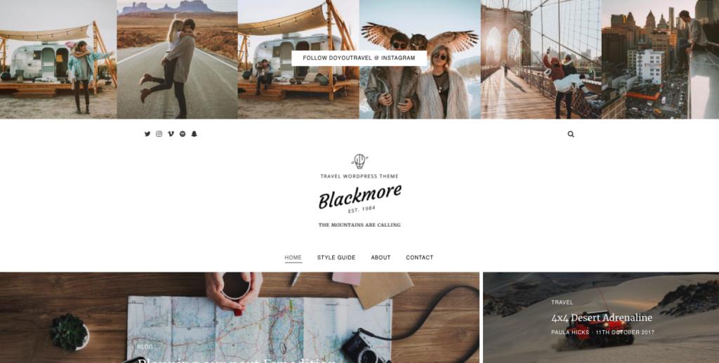 blackmore theme