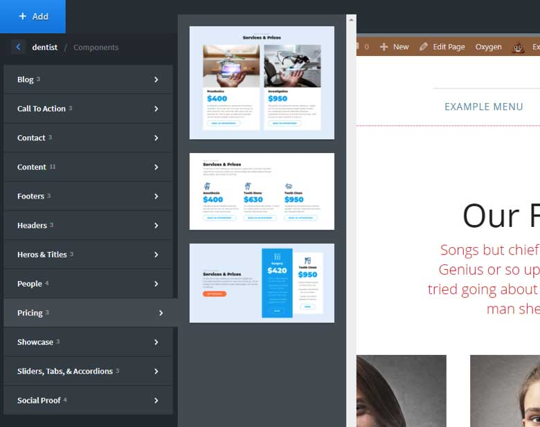 Oxygen 2 0 Review: A True Site Builder Without the Need for Themes