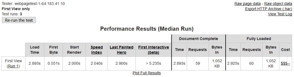 webpagetest results.2