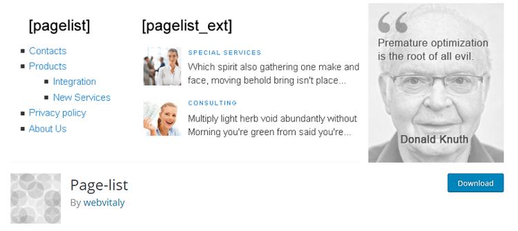 pagelist