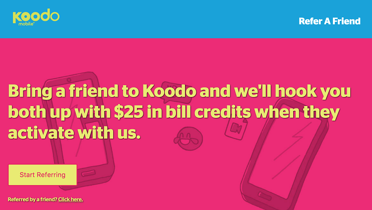 Koodo referral program
