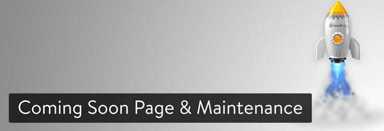 Coming soon page and maintenance plugin