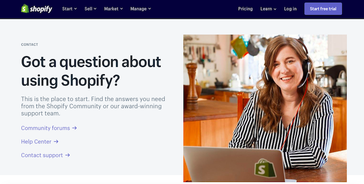 Shopify Customer Support Cover Page