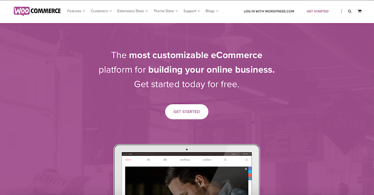 WooCommerce Vs Shopify: WooCommerce cover page