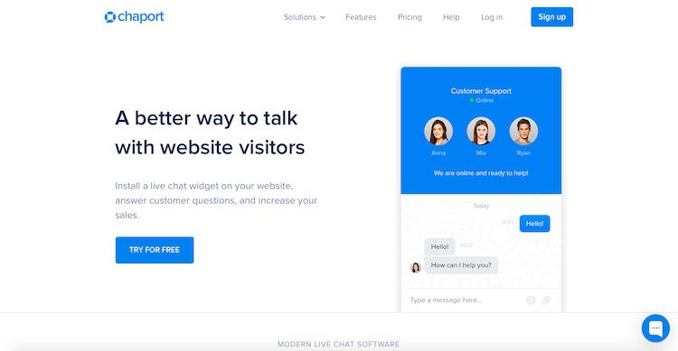 Chaport WordPress chat plugin