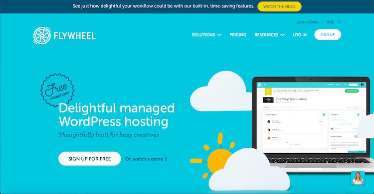 Flywheel: Best WordPress Hosting Providers