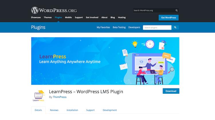 LearnPress Best WordPress LMS Plugins