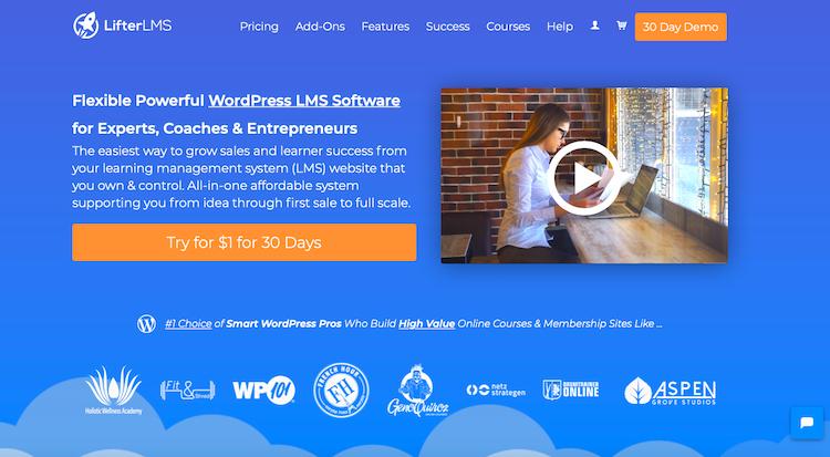 LifterLMS Best WordPress LMS Plugins