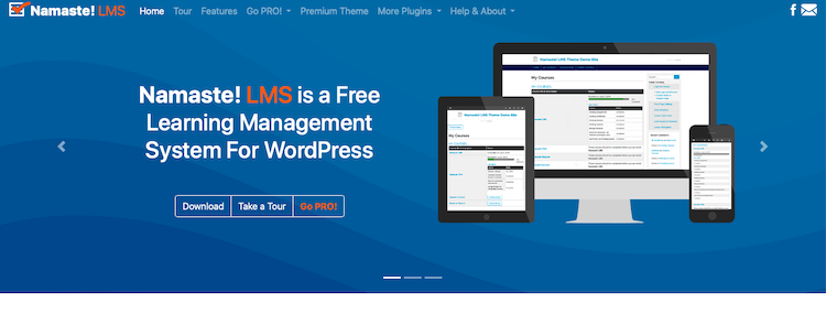 Namaste LMS Best WordPress LMS Plugins