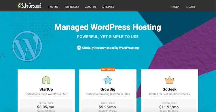 SiteGround: Best WordPress Hosting Providers