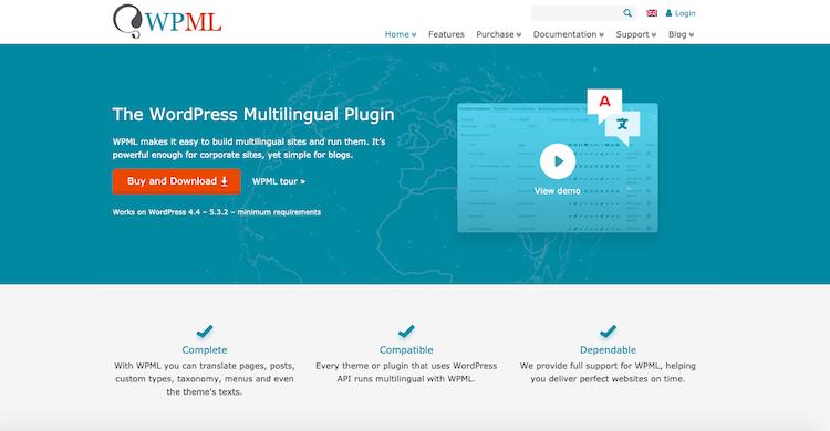 WPML: Best WordPress Translation Plugin