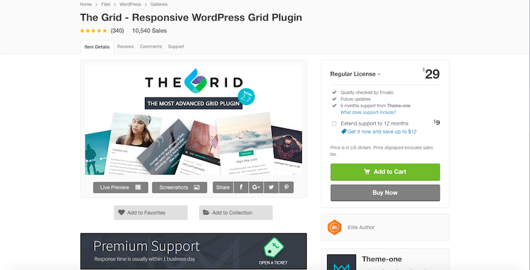 The Grid: WordPress gallery plugins