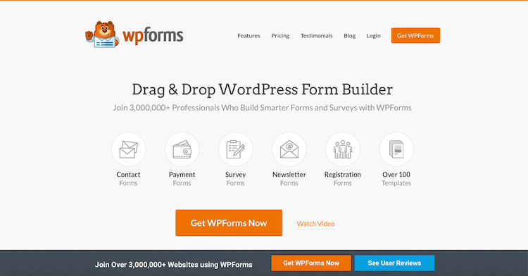 WPForms: best contact form plugins