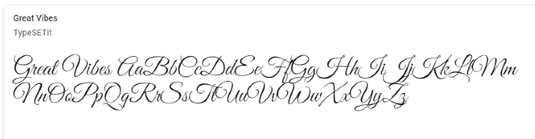 best-google-fonts-great-vibes
