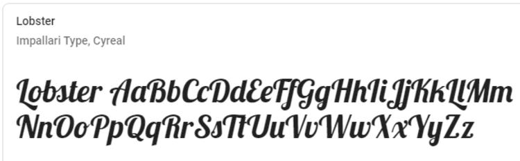 best-google-fonts-lobster
