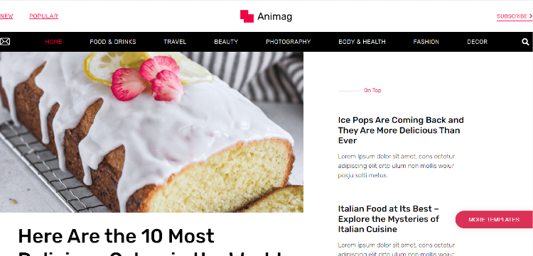 best-food-and-recipe-blog-themes-magazine-blog