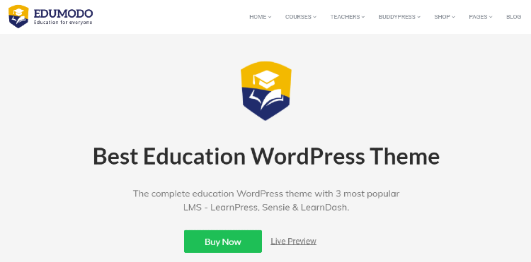 best-wordpress-learndash-themes-edumodo