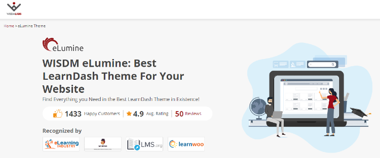 best-wordpress-learndash-themes-elumine