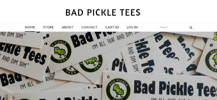 bad pickle tees