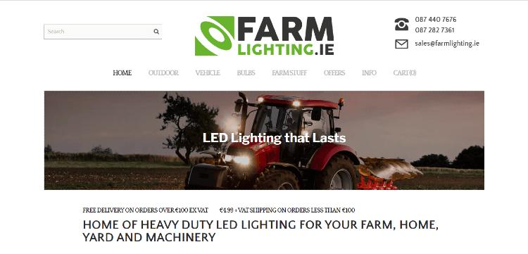 farm lighting
