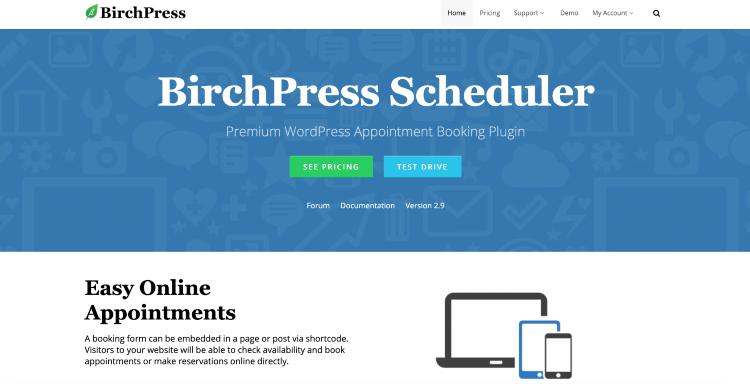 best wordpress booking plugins birchpress scheduler