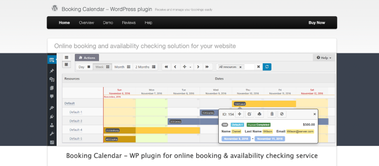 best wordpress booking plugins booking calendar