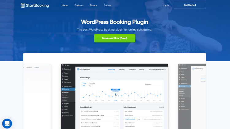 best wordpress booking plugins startbooking