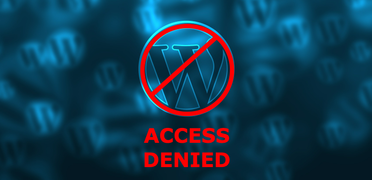 limit-access-to-your-wordpress-dashboard-access-denied