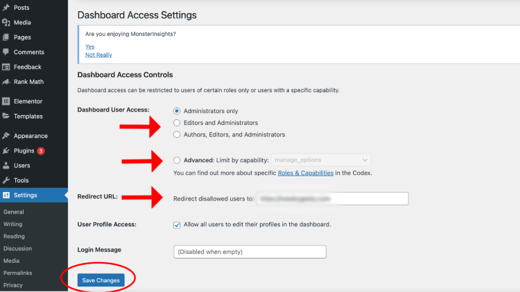 limit-access-to-your-wordpress-dashboard-access-settings